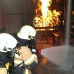 Übungstag im Brandhaus 2