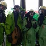 Jährlicher Übungslauf der Gefahrstoffeinheit mit CSA