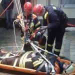 Übung - Vorbereitungen Höhenrettung