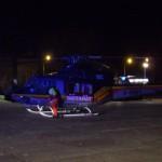 Absicherung Landeplatz für Rettungshubschrauber
