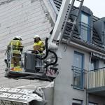 Sturmschaden an einem Gebäude